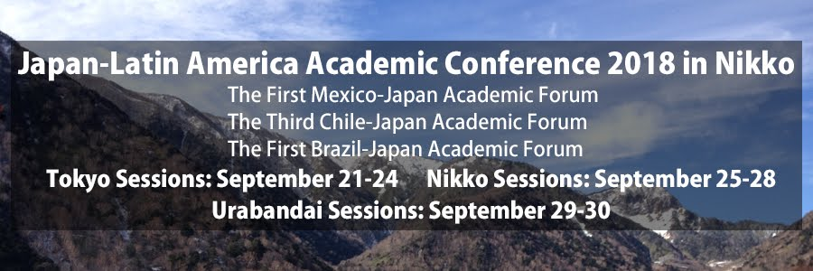 Japan-Latin America Academic Conference 2018 in Nikko