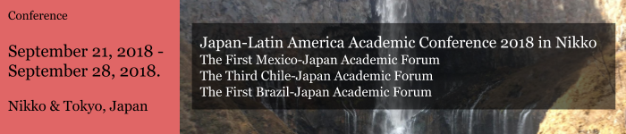 Japan-Latin America Conference 2018 in Nikko